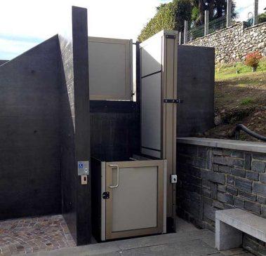 Elevador Vertical Para Exterior