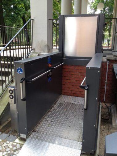 Plataforma Elevadora De Exterior